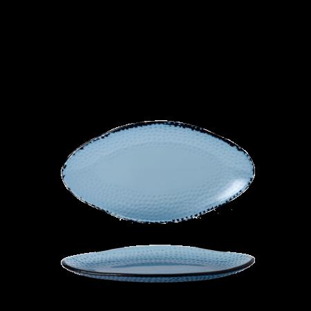 Churchill Isla Glass organic ovaal bord 30 x 16,2 cm