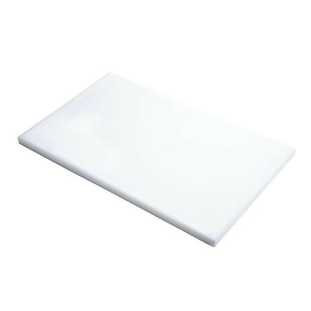 Gastro M HDPE snijplank wit 60 x 40 x 2(h) cm