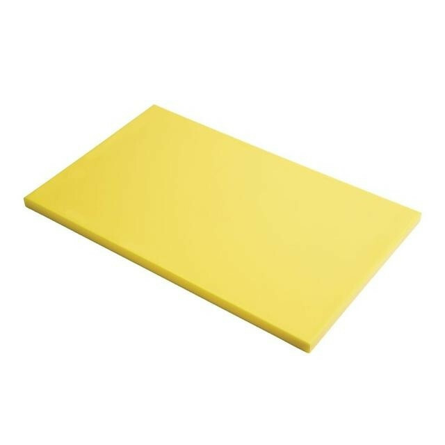 Gastro M HDPE snijplank geel 60 x 40 x 2(h) cm