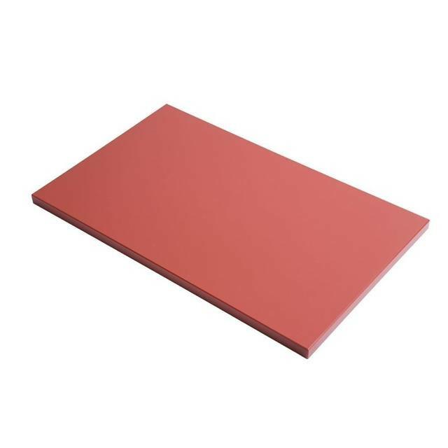 Gastro M HDPE snijplank bruin 60 x 40 x 2(h) cm
