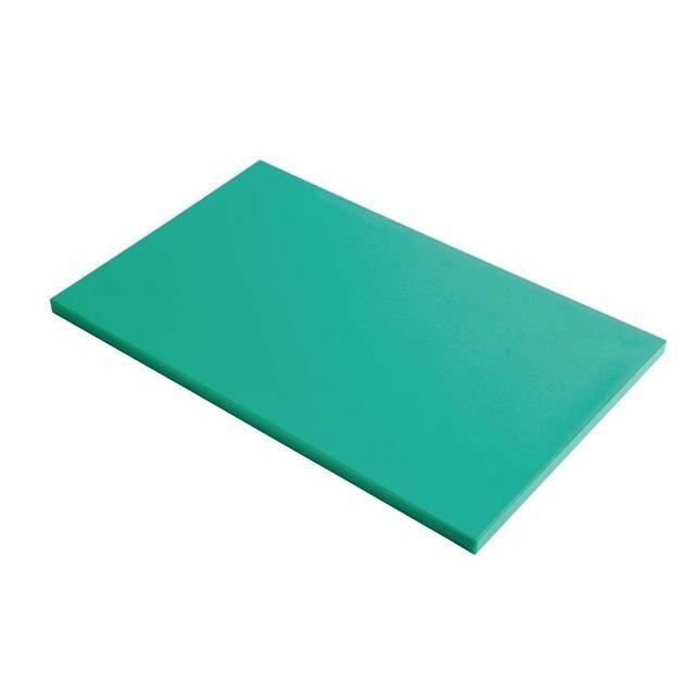 Gastro M HDPE snijplank groen 60 x 40 x 2(h) cm