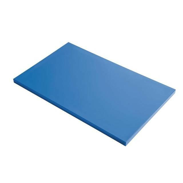 Gastro M HDPE snijplank blauw 60 x 40 x 2(h) cm