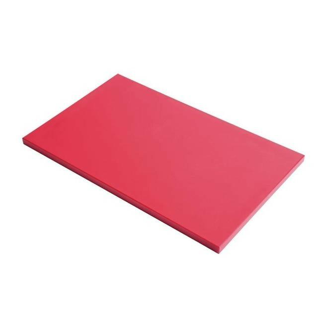Gastro M HDPE snijplank rood 60 x 40 x 2(h) cm