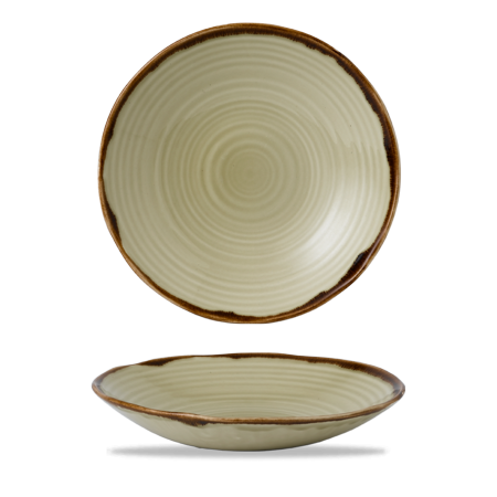 Dudson Harvest Linen organic coupe bowl 27,9 cm