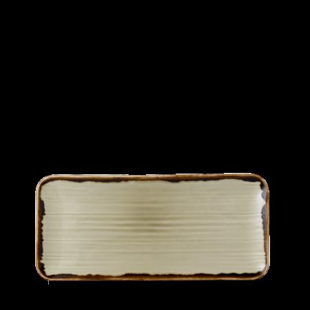 Dudson Harvest Linen organic rectangular plate 34,6 x 15,6 cm