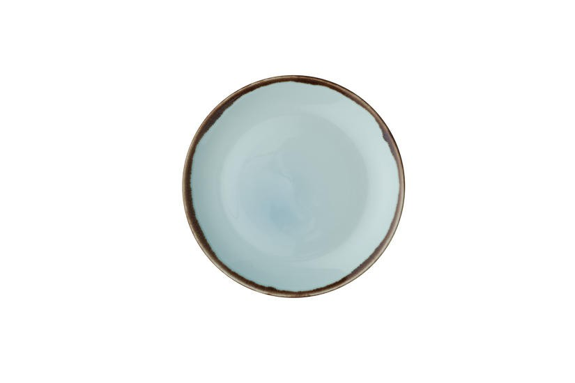 Dudson Harvest Turquoise coupe bord 26 cm