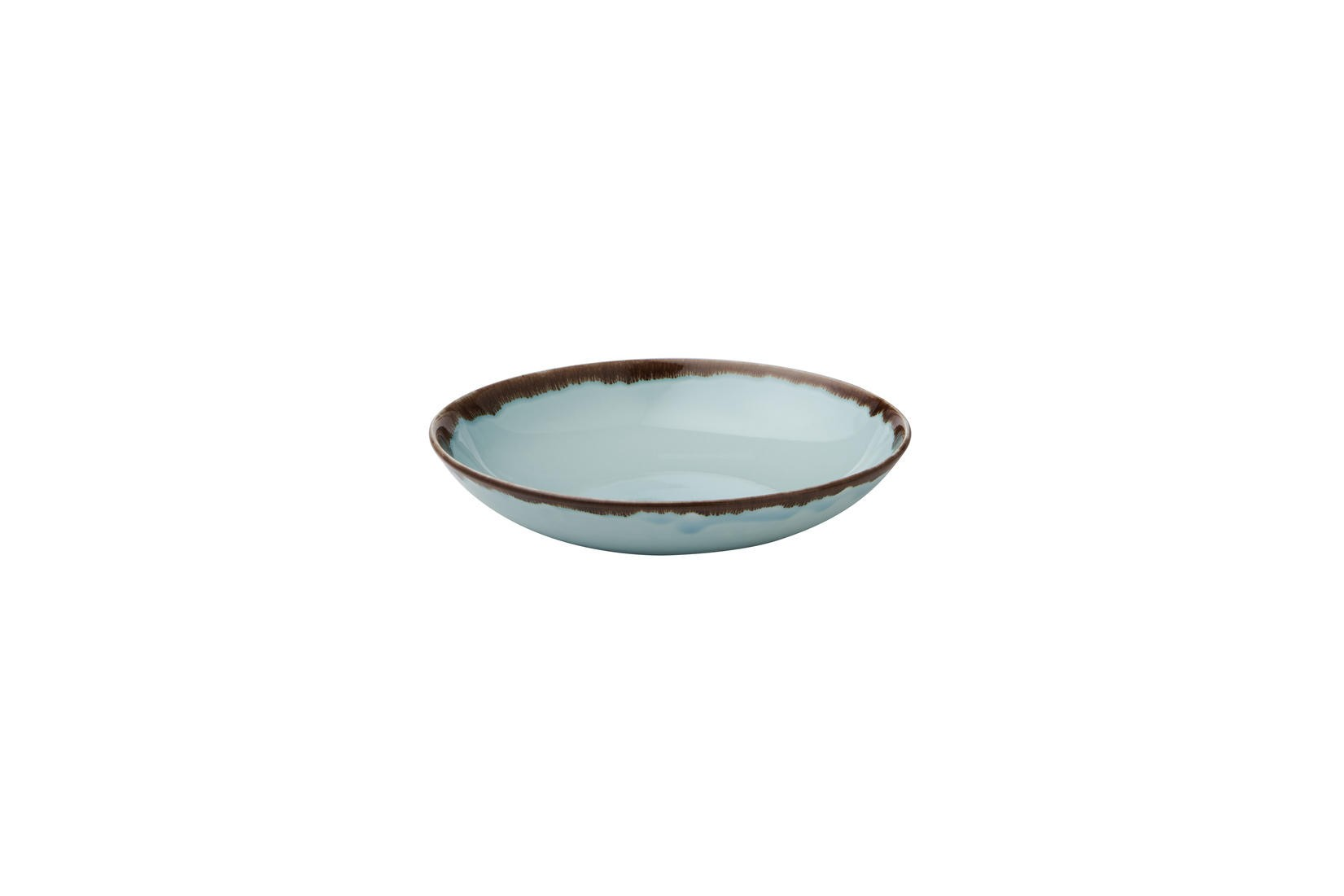 Dudson Harvest Turquoise coupe bowl 24,8 cm