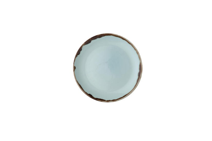 Dudson Harvest Turquoise coupe bord 21,7cm