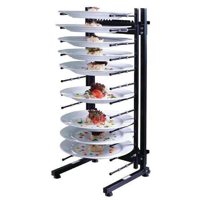 Jackstack bordenrek tafelmodel 12 borden