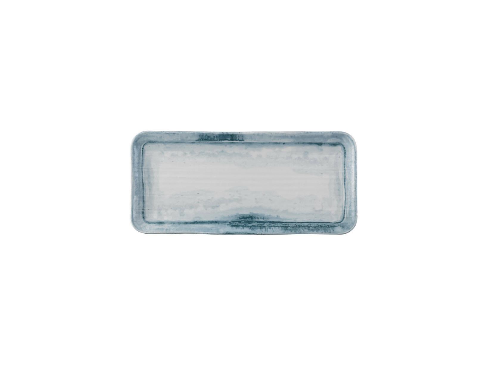 Dudson Finca Limestone organic rectangular plate 34,6 x 15,6 cm