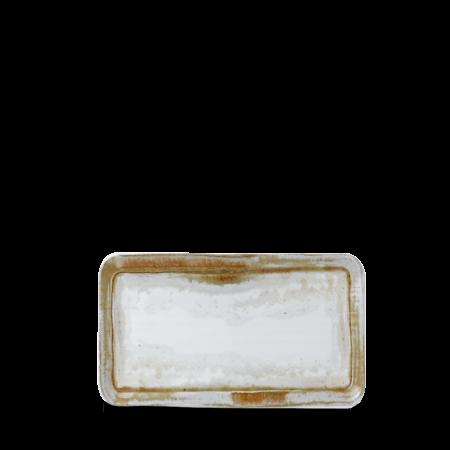Dudson Finca Sandstone organic rectangular plate 27 x 16 cm