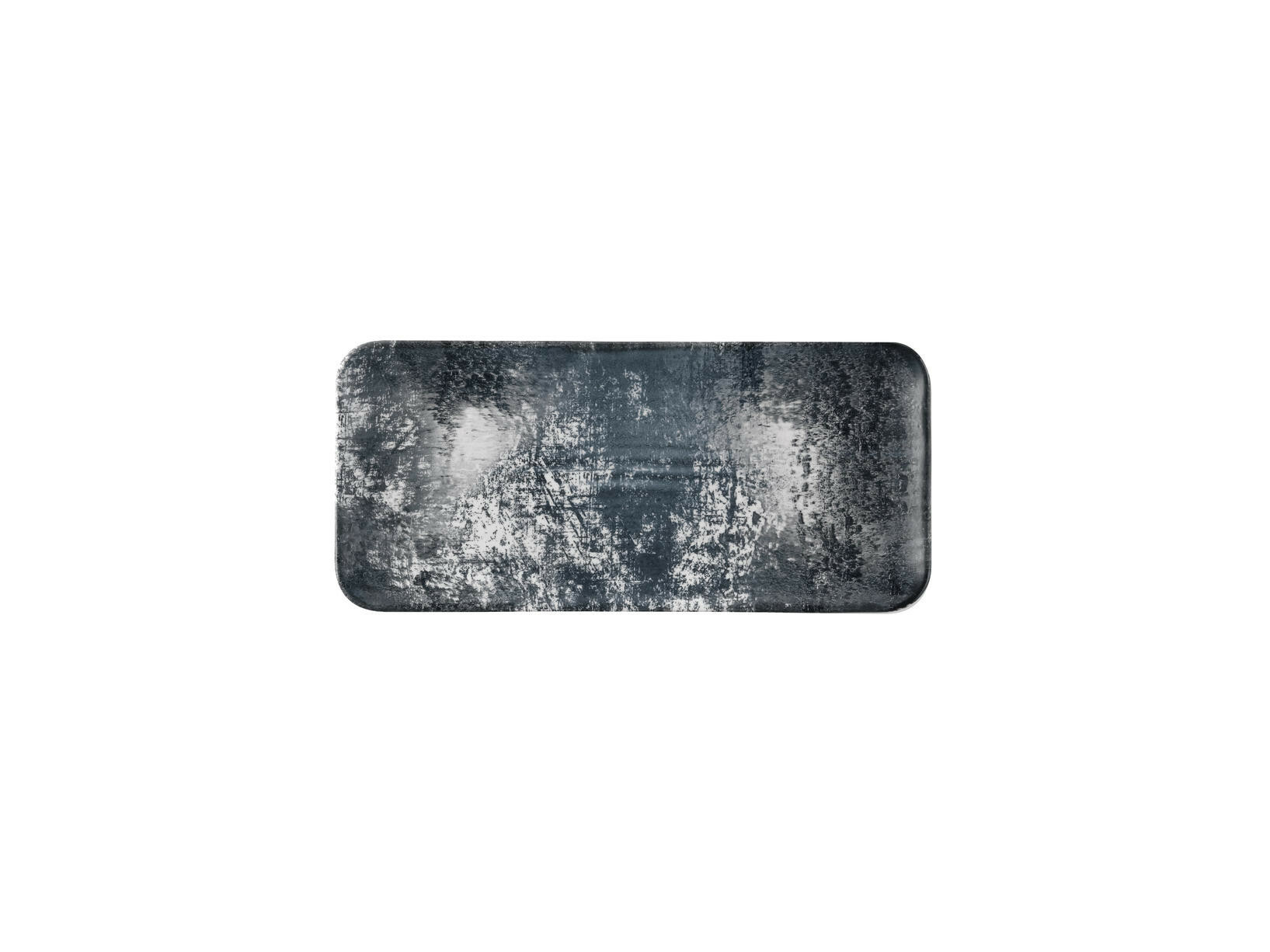 Dudson Urban Lamp Black organic rectangular plate 34,6 x 15,6 cm