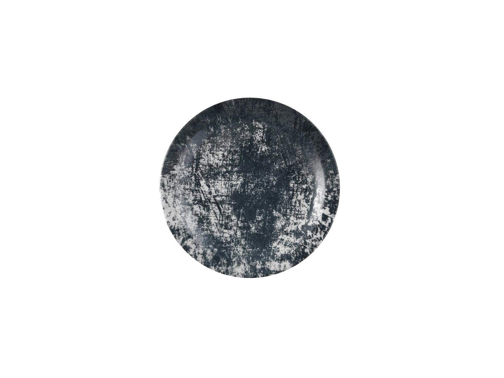 Dudson Urban Lamp Black bord smalle rand 28 cm