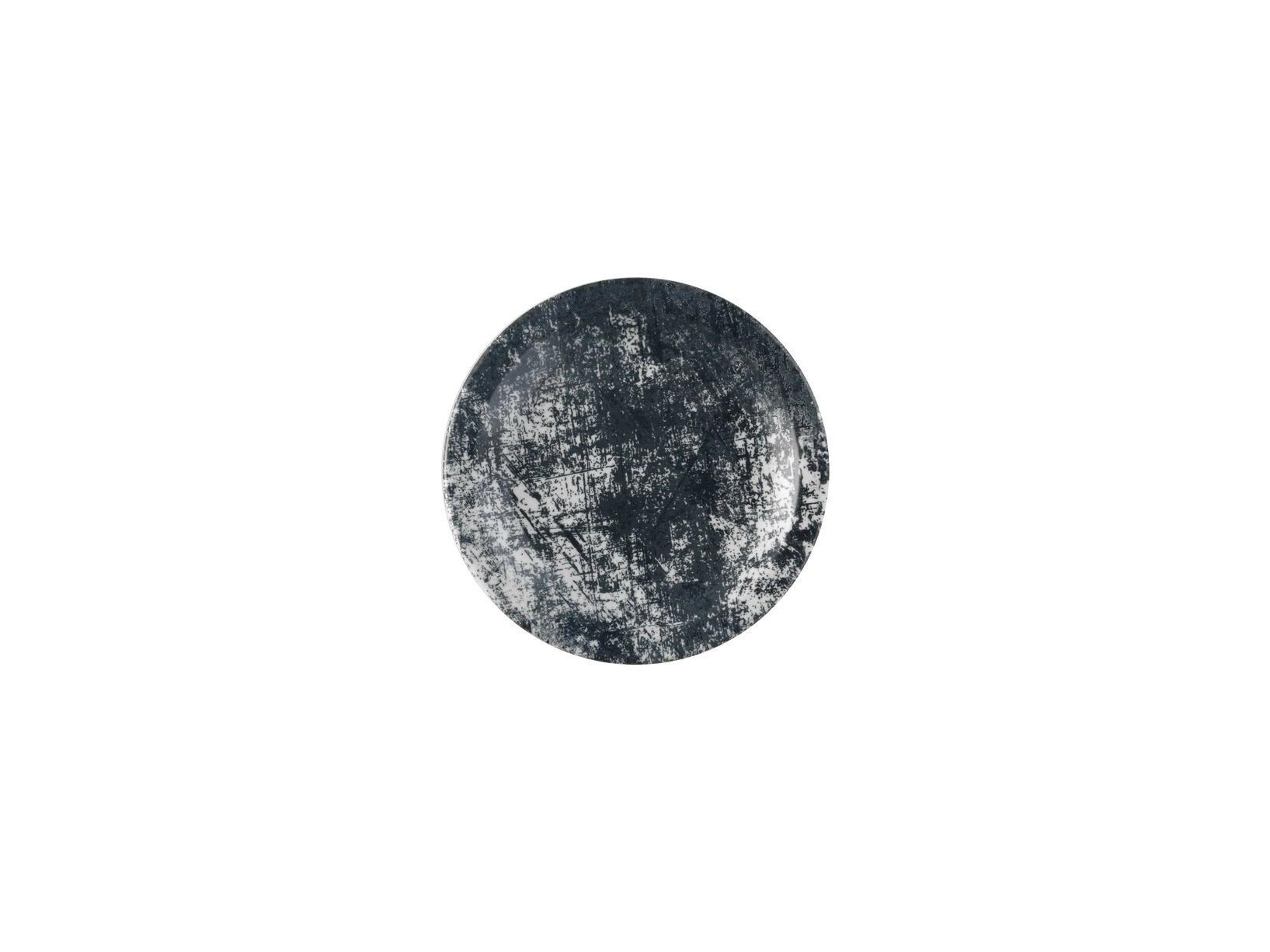 Dudson Urban Lamp Black bord smalle rand 17,8 cm
