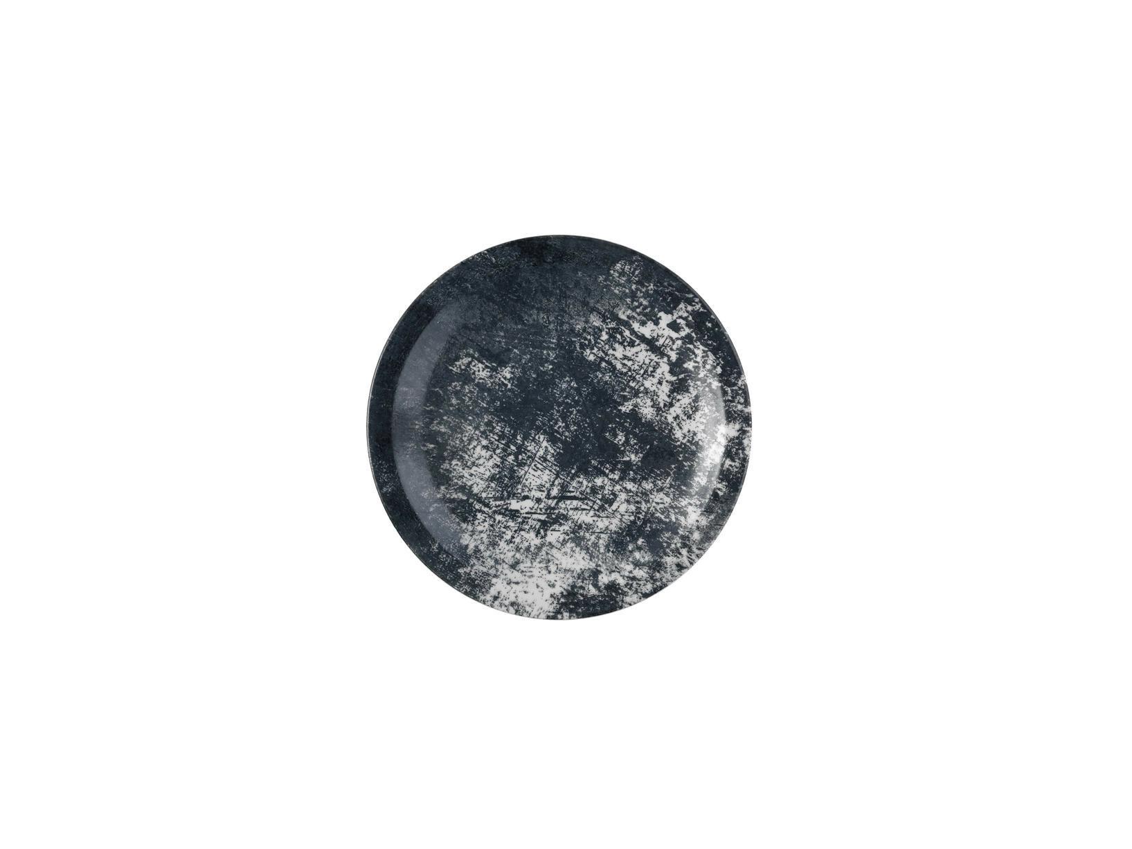 Dudson Urban Lamp Black bord smalle rand 23 cm