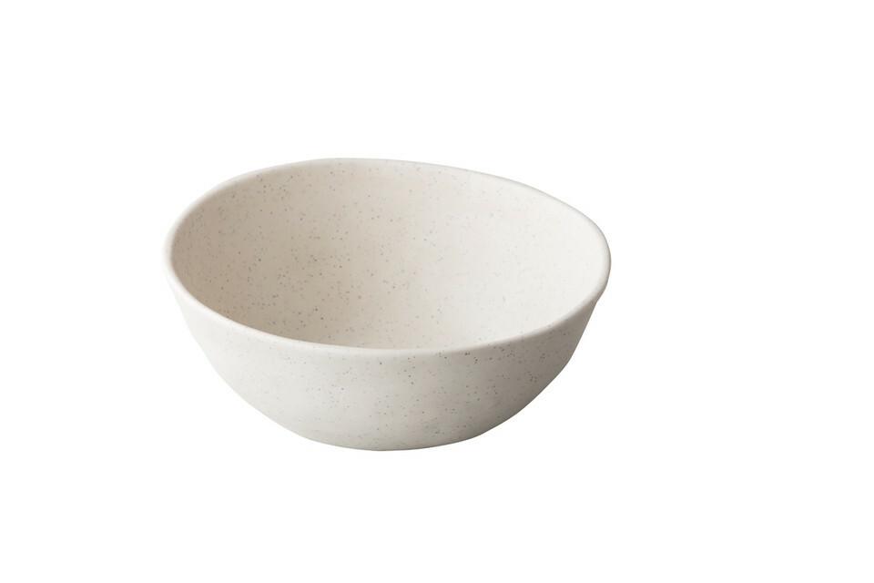Stylepoint melamine Pebble Cream kom organisch 20,5 x 6,8(h) cm