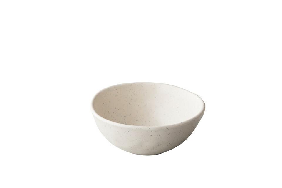 Stylepoint melamine Pebble Cream kom organisch 15,5 x 6,2(h) cm