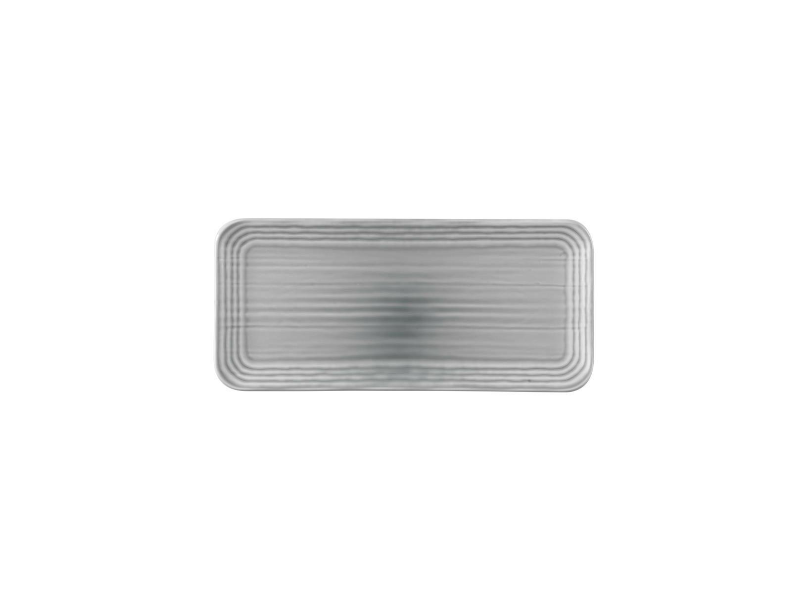 Dudson Harvest Norse Grey organic rectangular plate 34,6 x 15,6 cm