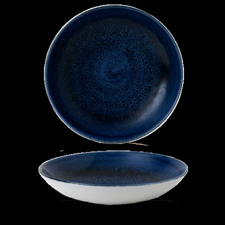 Stonecast Plume Ultramarine coupe bowl 24,8 cm