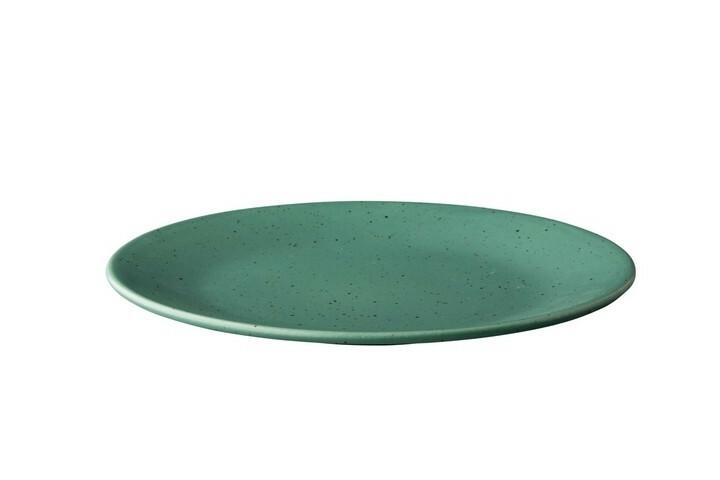 Q Authentic Tinto bord rond mat groen 28 cm