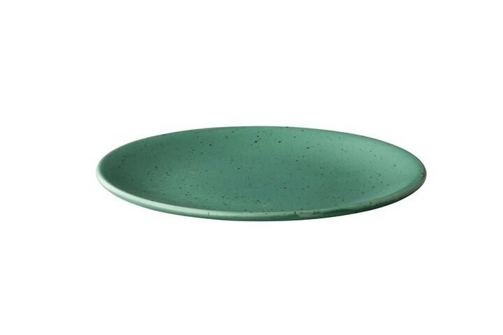Q Authentic Tinto bord rond mat groen 22,5 cm