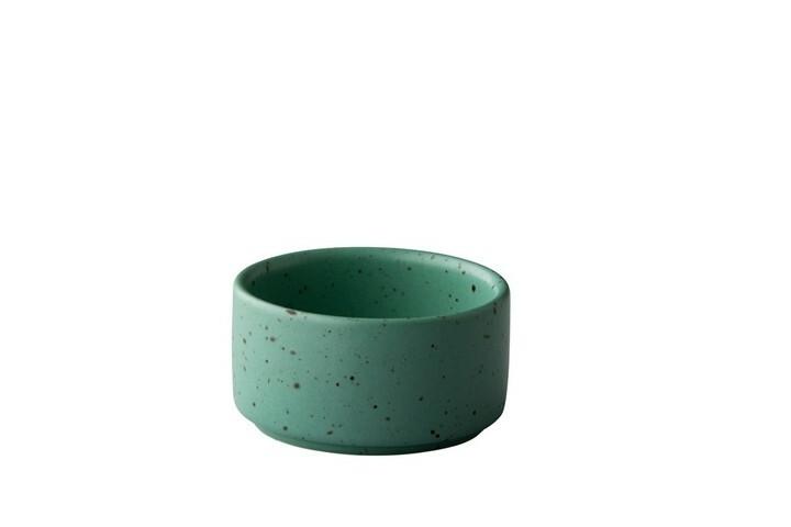 Q Authentic Tinto saustipje stapelbaar mat groen 6 cl