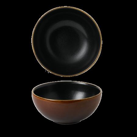 Churchill Nourish Tokyo Black deep bowl 77 cl