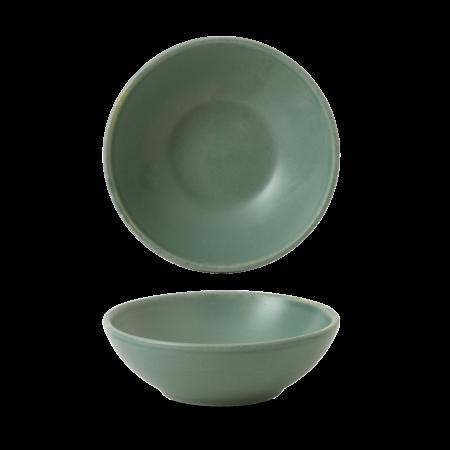 Churchill Nourish Andorra Green shallow bowl 20 cl