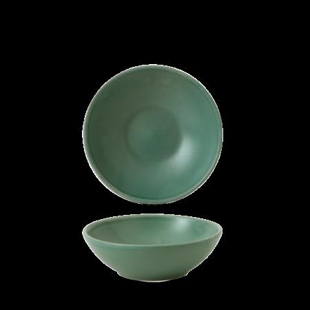 Churchill Nourish Andorra Green shallow bowl 26 cl