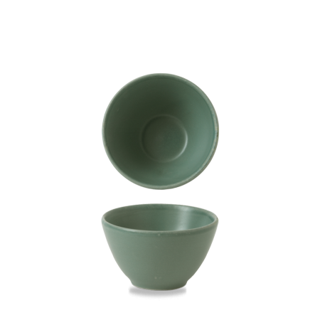 Churchill Nourish Andorra Green deep bowl 24 cl