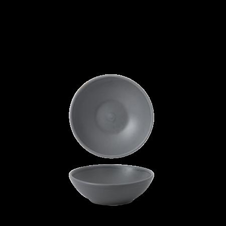 Churchill Nourish Seattle Grey shallow bowl 20 cl
