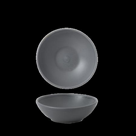 Churchill Nourish Seattle Grey shallow bowl 26 cl