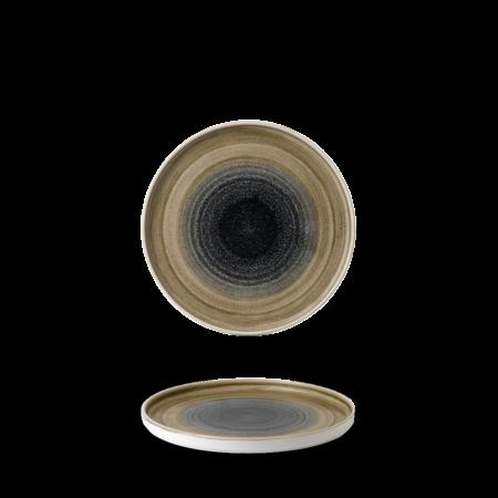 Stonecast Aqueous Bayou walled chef`s plate 21 cm