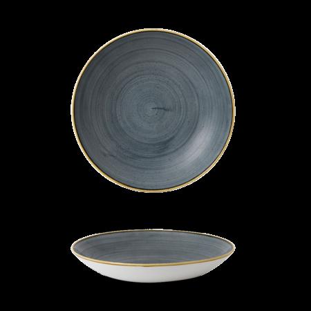 Stonecast Blueberry coupe bowl 31 cm