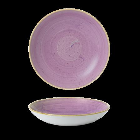 Stonecast Lavender coupe bowl 24,8 cm