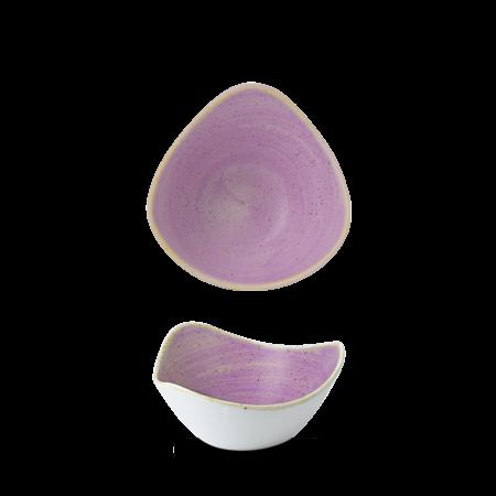 Stonecast Lavender triangle bowl 15,3 cm