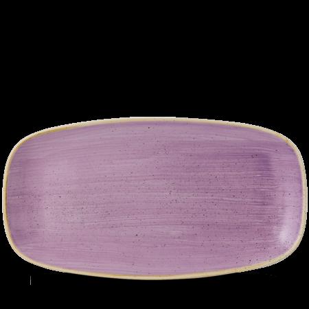 Stonecast Lavender chef`s oblong plate 35,5 x 18,9 cm