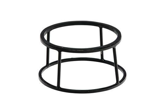 buffetstandaard Base metaal zwart met anti-slip Ø 22/24 x 12(h) cm