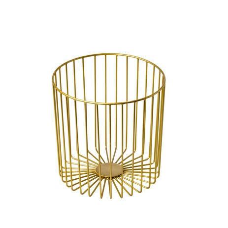 presentatiemand metaal Elements goud Ø 23 x 23(h) cm
