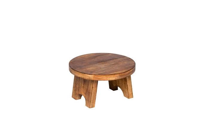buffetverhoger hout Elements Ø 25 x 15(h) cm