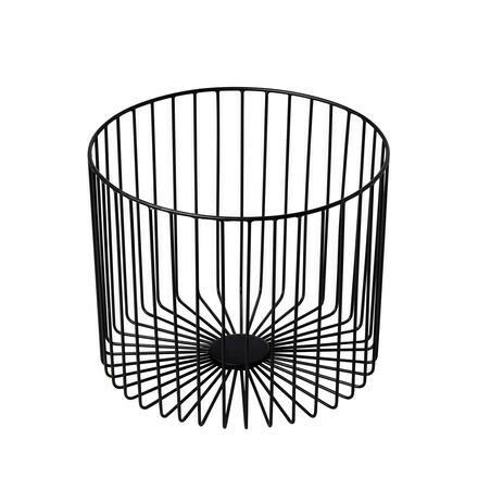 presentatiemand metaal Elements zwart Ø 28 x 23(h) cm