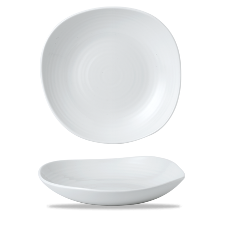 Dudson White wobbly bowl 29,5 cm