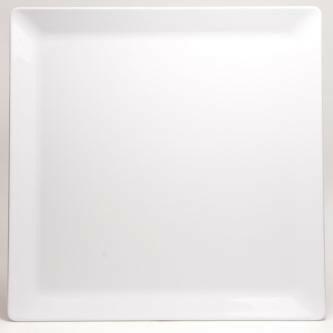 Truyts melamine bord vierkant 51 x 51 cm ZWART