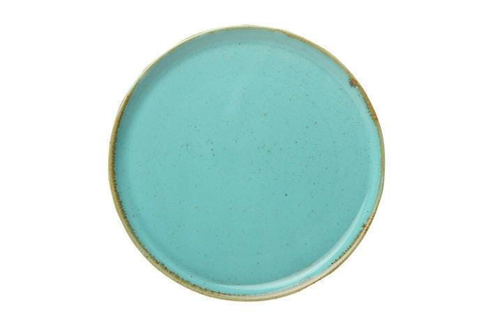 Porland Seasons Turquoise extra plat bord 28 cm