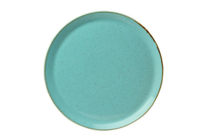 Porland Seasons Turquoise extra plat bord 32 cm