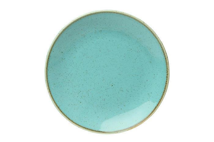 Porland Seasons Turquoise coupe bord 18 cm