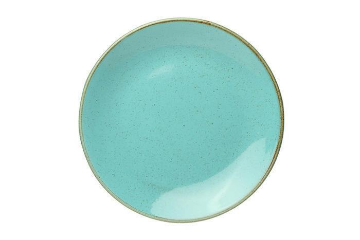Porland Seasons Turquoise coupe bord 24 cm