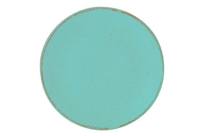 Porland Seasons Turquoise coupe bord 30 cm