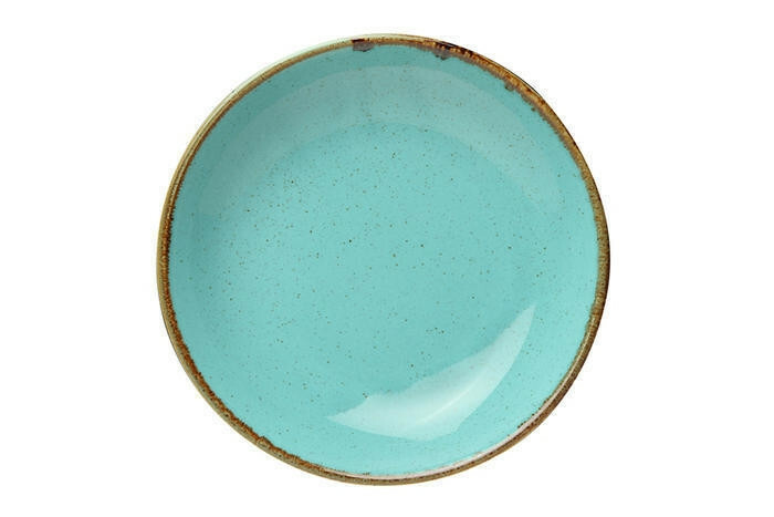 Porland Seasons Turquoise coupe bord diep 26 cm