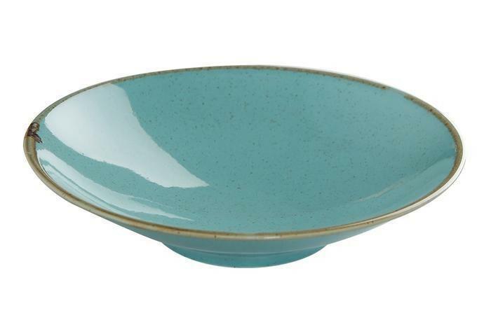 Porland Seasons Turquoise coupe bowl  26 cm